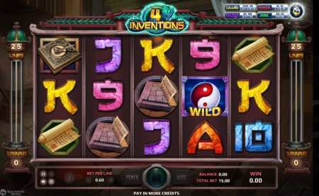 The Four Inventions - joker slot