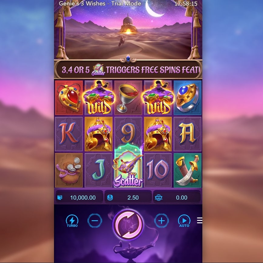 Genies 3 Wishes- pg slot