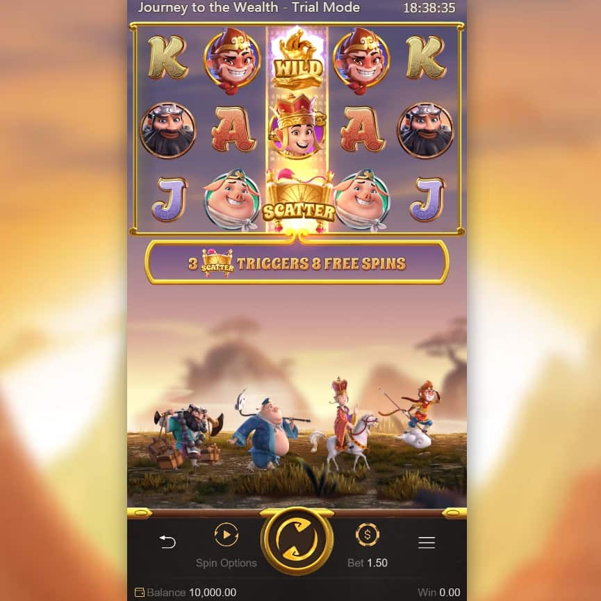 Journey To The Wealth - PG slot