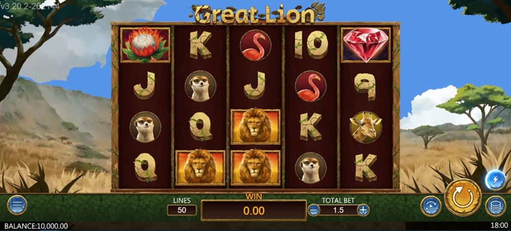 Great Lion- Pg