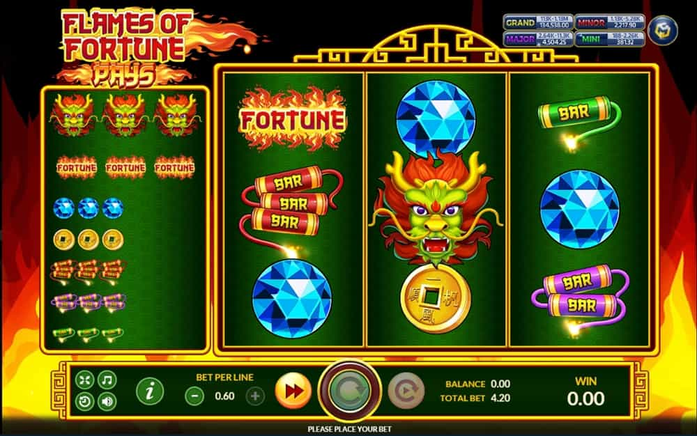 Flames Of Fortune - PGslot